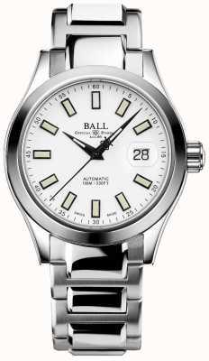 Ball Watch Company Ingenieur III Wunder | Edelstahl | weißes Zifferblatt NM2026C-S10J-WH