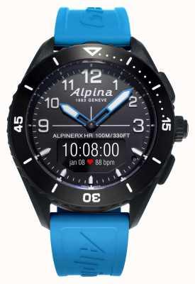 Alpina | Alpinerx lebendig | blaues Kautschukband | AL-284LBBW5AQ6