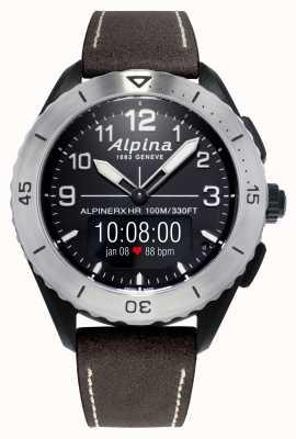 Alpina | Alpinerx lebendig | braunes Lederband AL-284LBBW5SAQ6