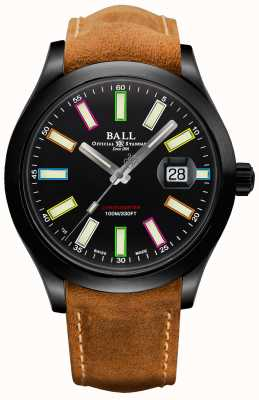 Ball Watch Company Limited Edition Ingenieur II Regenbogen Cosc automatischer Chronometer 43mm Titan NM2028C-L28CJ-BK