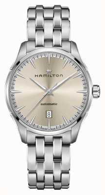 Hamilton Jazzmaster | auto | Edelstahlarmband | Champagner Zifferblatt H32475120
