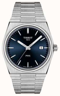 Tissot Herren Prx 40mm Quarzblau Zifferblatt T1374101104100
