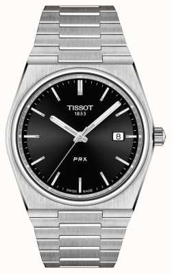 Tissot Herren Prx 40mm Quarz schwarz Zifferblatt T1374101105100
