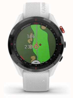 Garmin Ansatz s62 | Golf | GPS | Keramik Lünette | weißes Silikon 010-02200-01