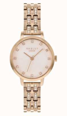 Radley | Frauen | rosévergoldetes Armband | weißes Zifferblatt | RY4560