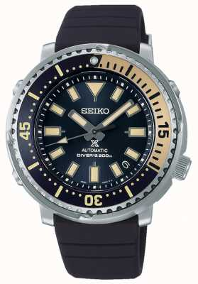 Seiko Prospex | Straßenserie Thunfisch Safari Edition | blaues Silikonband | blaues Zifferblatt SRPF81K1