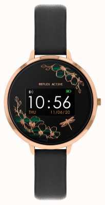 Reflex Active Serie 3 Smartwatch | schwarzer Riemen RA03-2040
