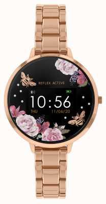 Reflex Active Serie 3 Smartwatch | Roségold Stahlarmband RA03-4012