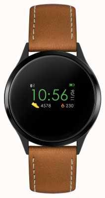 Reflex Active Serie 4 Smartwatch | Farb-Touchscreen | brauner Riemen RA04-1000