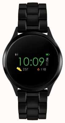 Reflex Active Serie 4 Smartwatch | Farb-Touchscreen | schwarzes IP-Stahlarmband RA04-3000