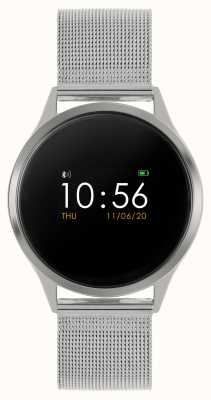 Reflex Active Serie 4 Smartwatch | Farb-Touchscreen | Edelstahl-Netzarmband RA04-3001