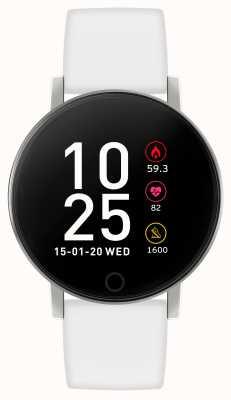 Reflex Active Serie 5 Smartwatch | Stundenmonitor | Farb-Touchscreen | weißer Riemen RA05-2019