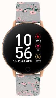 Reflex Active Serie 5 Smartwatch | Stundenmonitor | Farb-Touchscreen | grauer Riemen RA05-2064