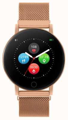 Reflex Active Serie 5 Smartwatch | Stundenmonitor | Farb-Touchscreen | Roségold-Stahlgitter RA05-4016