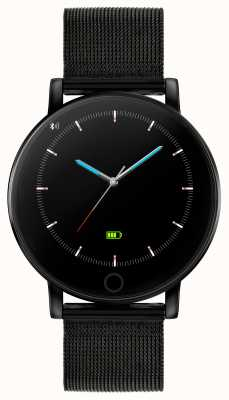 Reflex Active Serie 5 Smartwatch | Stundenmonitor | Farb-Touchscreen | schwarzes IP-Stahlgitter RA05-4024