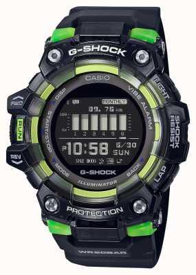 Casio G-Schock | Sport Vital Serie | schwarzes Silikonband | schwarzes Zifferblatt GBD-100SM-1ER