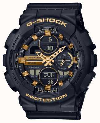 Casio Unisex Sport | g-schock | schwarzes Harzband | schwarzer dal | GMA-S140M-1AER