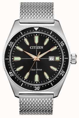 Citizen Herren Brycen Eco-Drive Edelstahl AW1590-55E
