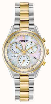 Citizen Damen Eco-Drive Chronographen Armband FB1444-56D