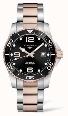 Longines Hydroconquest automatische zweifarbige Uhr L37813587