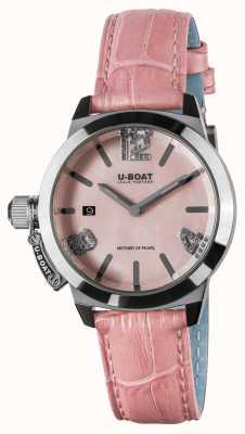 U-Boat Classico 38 rosa Lederband 8480