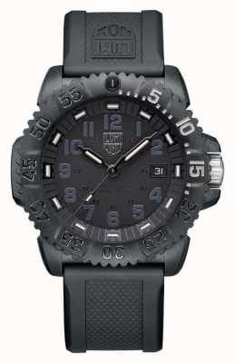 Luminox Navy Seal Foundation | Serie 3050 | schwarzes Silikonband XS.3051.GO.NSF