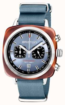 Briston | Clubmaster Sport | Acetat | eisblau | 20142.SA.TS.25.NIB