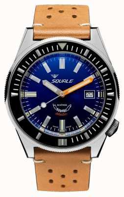 Squale Dunkelblau | automatisch | blaues Zifferblatt | braunes Lederband MATICXSB.PTC-CINU1565CM