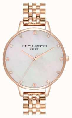 Olivia Burton Demi Blush Mop Armband aus Roségold OB16SE15