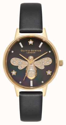Olivia Burton Sparkle Bee Midi schwarz und gold OB16GB08
