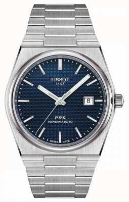 Tissot Prx 40 205 | powermatic 80 | blaues Zifferblatt | rostfreier Stahl T1374071104100