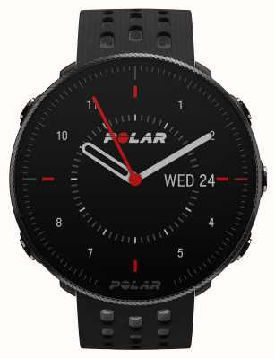 Polar Aussicht m2 | schwarz / graues Silikonarmband 90085160
