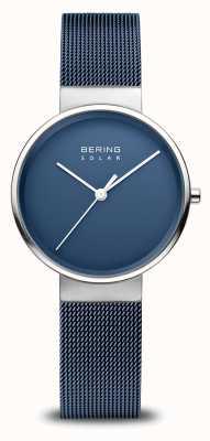 Bering Marineblaue Solaruhr für Damen 14331-307