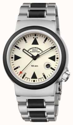 Muhle Glashutte Das sar Rescue-Timer Lumen | Armband M1-41-08-MB