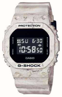 Casio G-Schock | Dienstprogramm welliger Marmor | Digitaler Bildschirm DW-5600WM-5ER