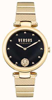 Versus Versace Versus Los Feliz Uhr aus vergoldetem Stahl VSP1G0621