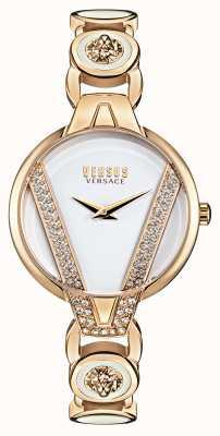 Versus Versace   Saint Germain zierlich   Kristallset   goldenes Armband   VSP1J0221