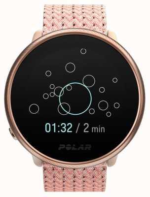 Polar 2 | entzünden pink & rose | Aktivitäts- und Stunden-Tracker rosa Stoffarmband | s / m 90085186
