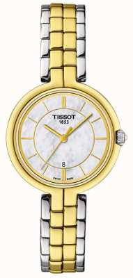 Tissot T-Lady Flamingo Perlmutt Zifferblatt T0942102211101