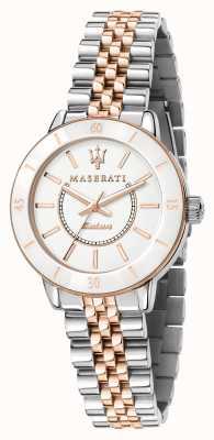Maserati Nachfolge-Solar-Zweitonuhr für Damen R8853145504