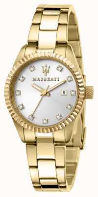 Maserati Vergoldete Damenuhr für Damen R8853100506