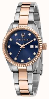 Maserati Zweifarbige Damenuhr für Damen R8853100507