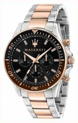 Maserati Sfida zweifarbiges Herrenarmband R8873640009