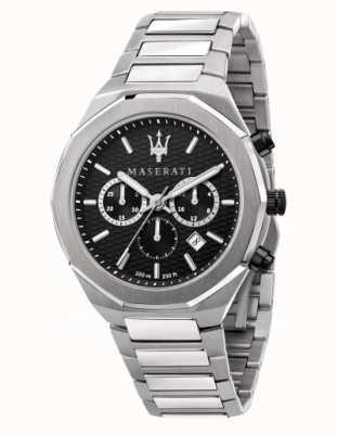 Maserati Stile Herren Chronograph Edelstahluhr R8873642004