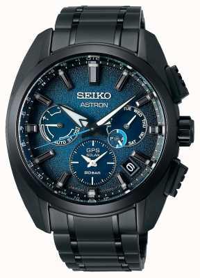 Seiko Astron Global Active Ti Limited Edition blaues Zifferblatt SSH105J1