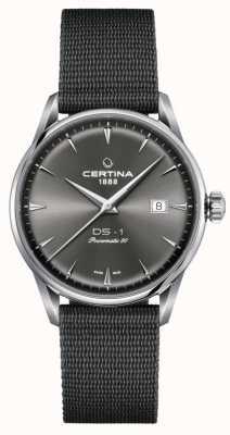 Certina Ds-1 Powermatic 80 Uhr mit grauem Zifferblatt C0298071108102