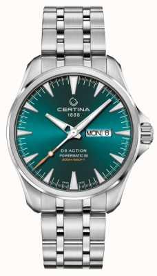 Certina DS Action Day-Date Powermatic 80 grünes Zifferblatt C0324301109100