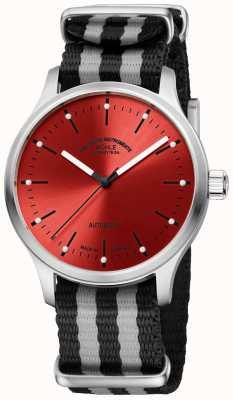 Muhle Glashutte Panova rotes zweifarbiges Nato-Armband M1-40-78-NB
