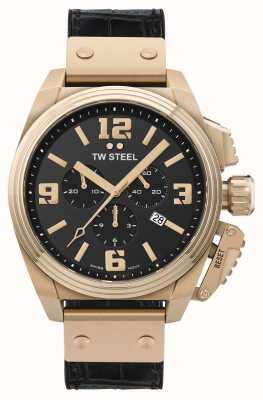 TW Steel Kantine PVD vergoldeter Edelstahl TW1014