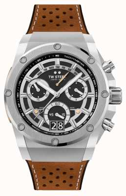 TW Steel Ace Genesis Limited Edition Chronograph braunes Armband ACE120